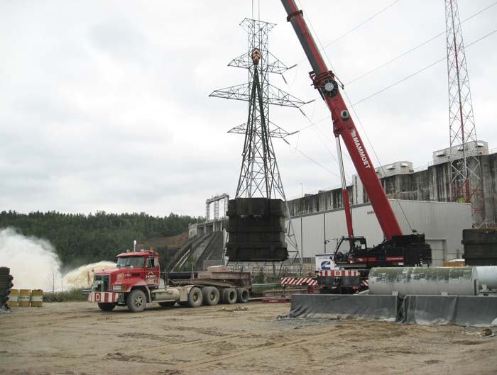 Transformer Removal and Replacement